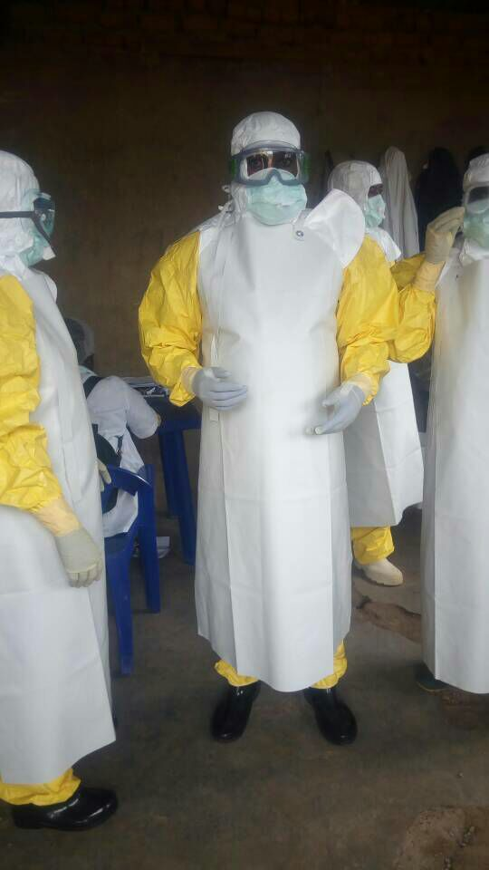 Ebola Schutz im Congo